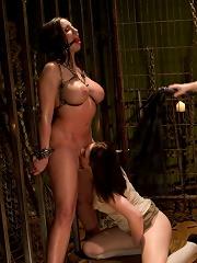 Lezdom Chastity Cuckold