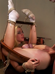 Into The Darkness A Hogtied Featured movie. A fantasy BDSM abduction movie starring Rylie Richman